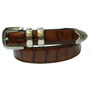 PGA Men's 1 1/4 Inch Genuine Leather Belt