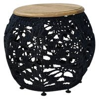 Renwil Lavina Mango Wood Accent Table