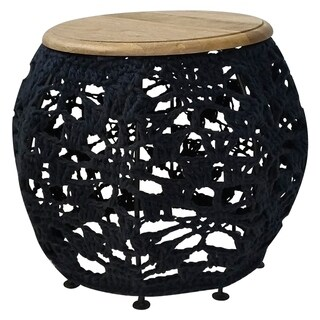 Renwil Lavina Natural Mango Wood Accent Table