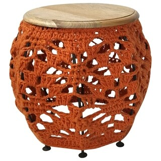 Renwil Imogen Natural Mango Wood Accent Table