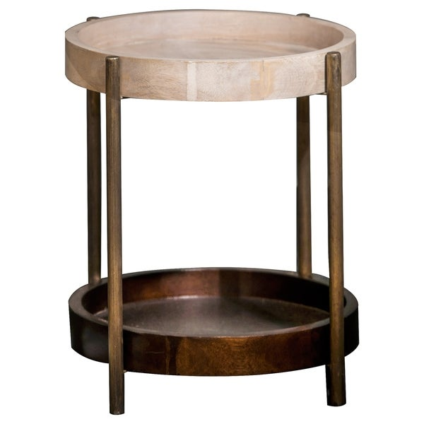 Renwil Sidney Mango Wood Accent Table
