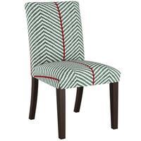 Skyline Furniture Dining Chair in Broken Twill Evergreen