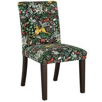 Skyline Furniture Dining Chair in Frolic Evergreen