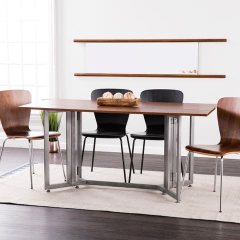 Holly & Martin Driness Drop Leaf Console to Dining Table