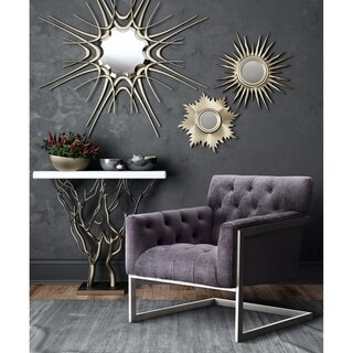 Moya Grey Velvet Chair