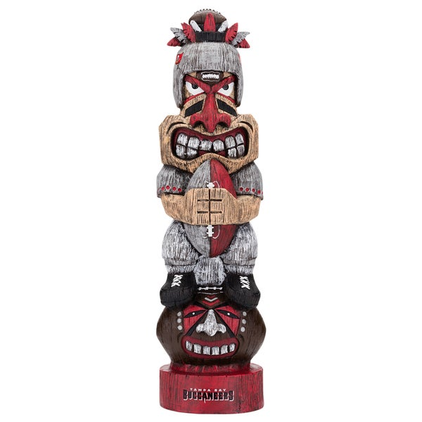 ee43c783cab146 Shop Tampa Bay Buccaneers NFL Tiki Totem - Free Shipping On Orders Over $45  - Overstock - 18029285
