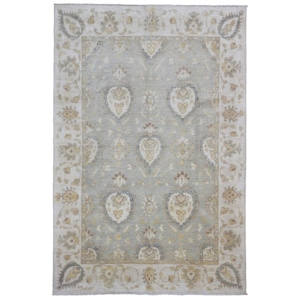 Stella Collection Hand Tufted Area Rug In Beige Light: Shop FineRugCollection Hand-knotted Fine Pakistan Peshawar