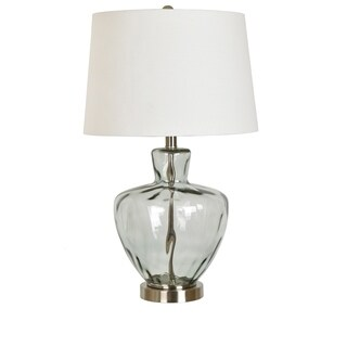 """Palm Springs Glass and Metal 25"""" Table Lamp"""