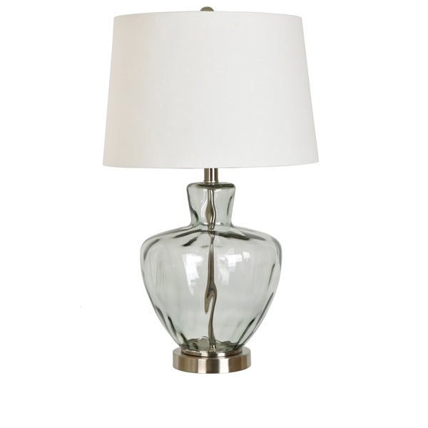 "Palm Springs Glass and Metal 25"" Table Lamp"