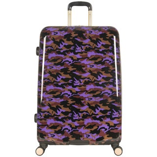 Aimee Kestenberg Sergeant Collection 28-inch Hardside Camo Printed 8-Wheel Expandable Suitcase