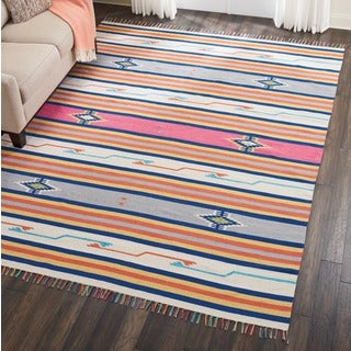 Nourison Baja Multicolored Moroccan Area Rug (8' x 10')