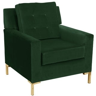 Skyline Furniture Accent Chair in Fauxmo Emerald