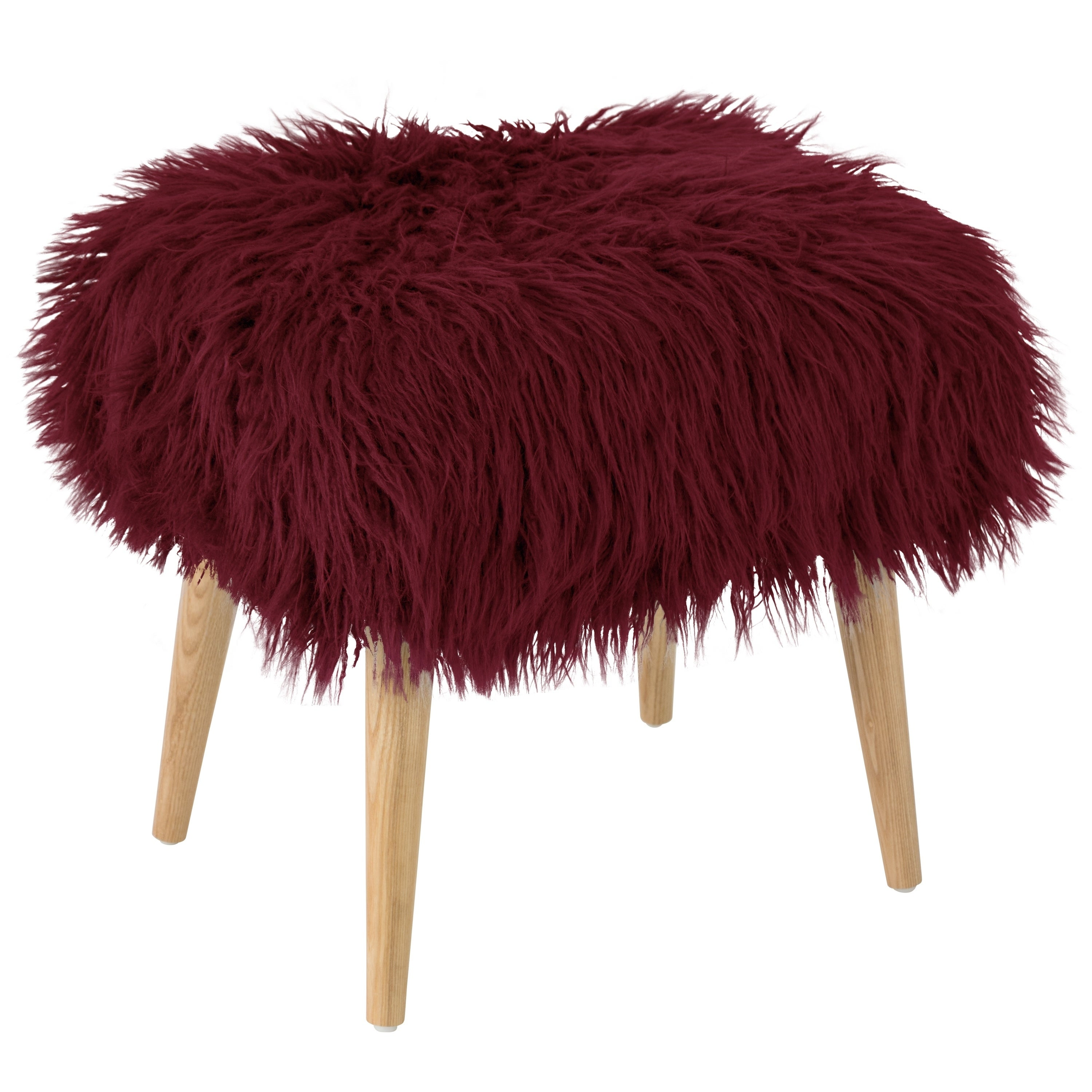 Excellent Skyline Furniture Ottoman In Fur Cjindustries Chair Design For Home Cjindustriesco