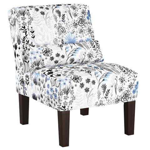 Skyline Furniture Accent Chair In Winter Botanical