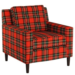 Skyline Furniture Accent Chair In Plaid