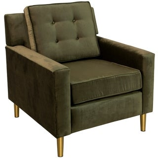 Skyline Furniture Accent Chair with Metal Legs in Majestic (5 options available)