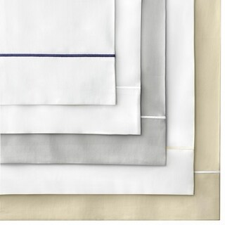 FlatIron Hotel Satin Stitch Pillowcase Pair
