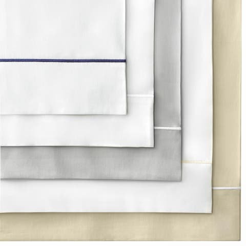 FlatIron Hotel Satin Stitch Bed Sheet Set