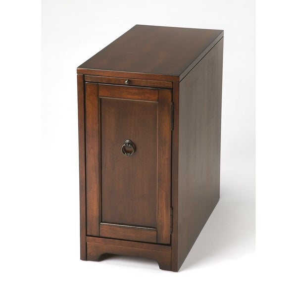 Handmade Butler Cabral Antique Cherry Side Table Chest (China)