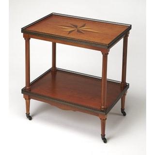 Butler Beacon Olive Ash Burl Side Table