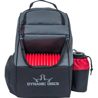 Dynamic Discs Trooper Backpack, Black/Red