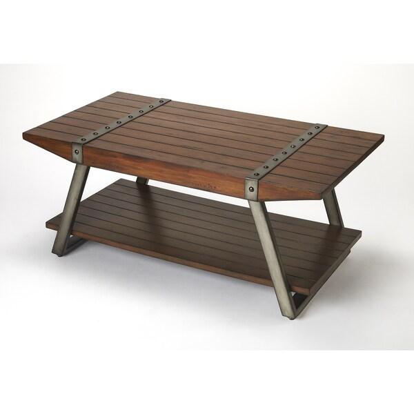 Charmant Butler Lamont Iron U0026amp; Wood Coffee Table
