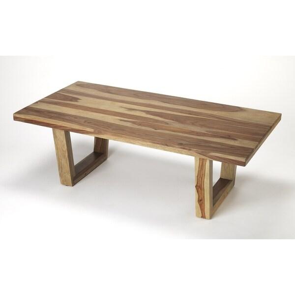 Butler Travis Sheesham Wood Coffee Table