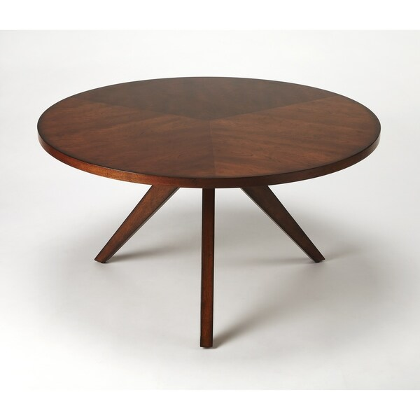 Shop Butler Racine Antique Cherry Coffee Table