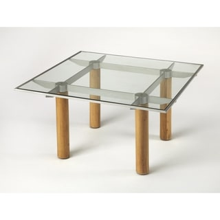 Butler Cirrus Glass & Metal Coffee Table