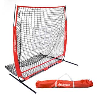 GoSports 5'x5' Baseball & Softball Practice Pitching & Fielding Net with Bonus Strike Zone, Great for all Skill Levels https://ak1.ostkcdn.com/images/products/18029937/P24197148.jpg?impolicy=medium