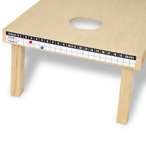 GoSports Cornhole Magnetic Scoreboard - Mounts to Any Cornhole Board