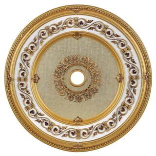 43 in. Ceiling Medallion in French Gold