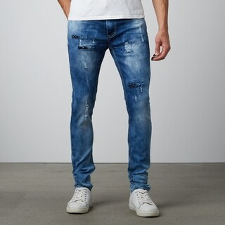 Dark Wash Skinny Fit Jeans Denim