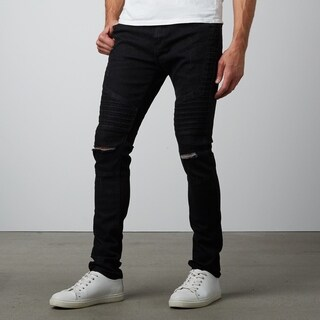 Skinny Fit Black Stretch Denim