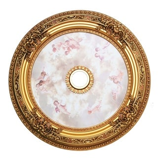 35 in. Ceiling Medallion in French Gold