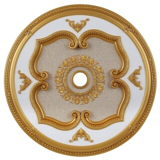 43 in. Ceiling Medallion in Gold