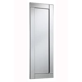 Modern 15.8 in. Contemporary Mirror in Clear