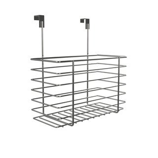 Over The Cabinet Kitchen Storage Organizer- Hanging Basket Shelf for Kitchen and Bathroom Organization by Classic Cuisine