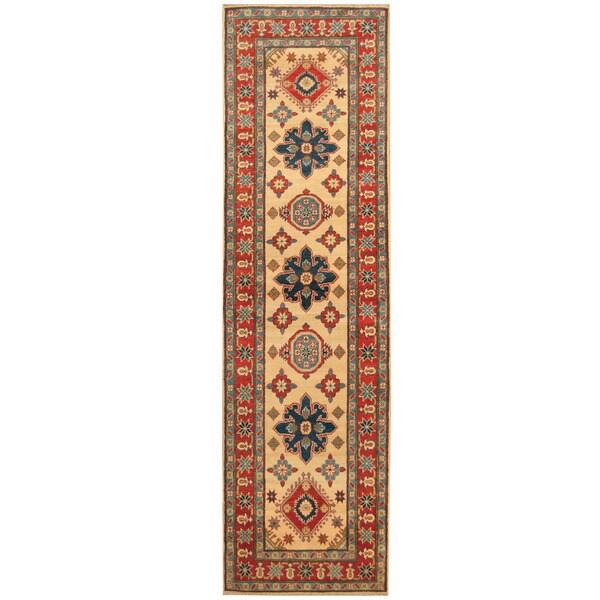 Handmade Kazak Wool Runner (Afghanistan) - 2'9 x 9'8