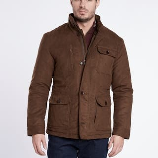 Medium Weight Brown Suede Quilted Jacket https://ak1.ostkcdn.com/images/products/18036568/P24203147.jpg?impolicy=medium