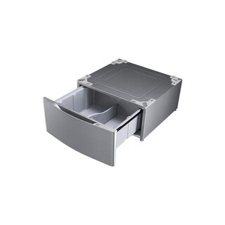 LG WDP5V - Graphite Laundry Pedestal w/ Built-In Storage Drawer