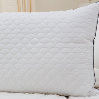 Nikki Chu Scallop Quilted Pillow