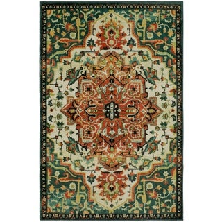 Mohawk Home Prismatic Emiko Distressed Traditional Area Rug - 5' x 8' - Thumbnail 0