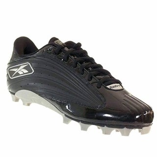 Reebok Men's NFL Outside Speed Low M Black Molded Football Cleats