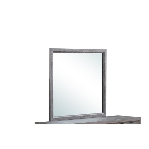Global Furniture Kate Mirror - Grey