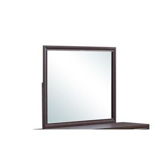 Global Furniture Noma Mirror - dark merlot