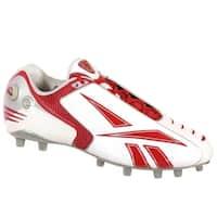 Reebok Pro Pump Burnerspd Low M2 Mens Football Cleats White Red