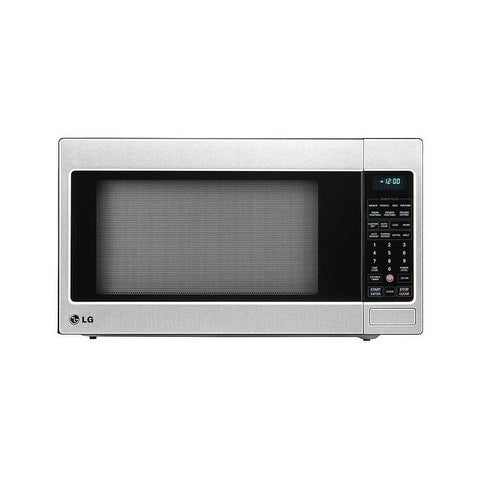 Stainless Steel Countertop Microwave Oven With Easyclean