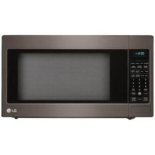 LG LCRT2010BD - 2.0 cu. ft. Black Stainless Steel Series Countertop Microwave Oven with EasyClean®