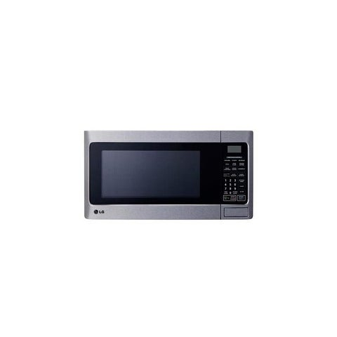LG LCS1112ST - 1.1 cu. ft. Stainless Steel Countertop Microwave Oven with Energy Savings Key